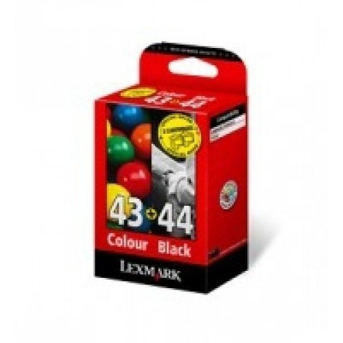 Lexmark Combo Pack #43 + #44 - print cartridge  -