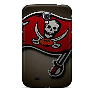 PamelaSmith Samsung Galaxy S4 Bumper Hard Phone Cases Allow Personal Design Trendy Tampa Bay Buccaneers Pattern [NnE8241UBGB]