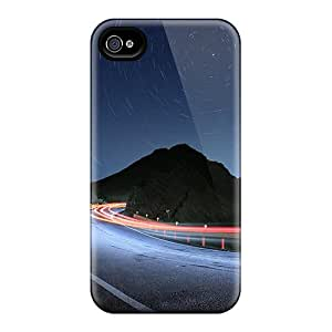 Iphone 4/4s UxnVfNE8066sVFmu Speed Road Tpu Silicone Gel Case Cover. Fits Iphone 4/4s