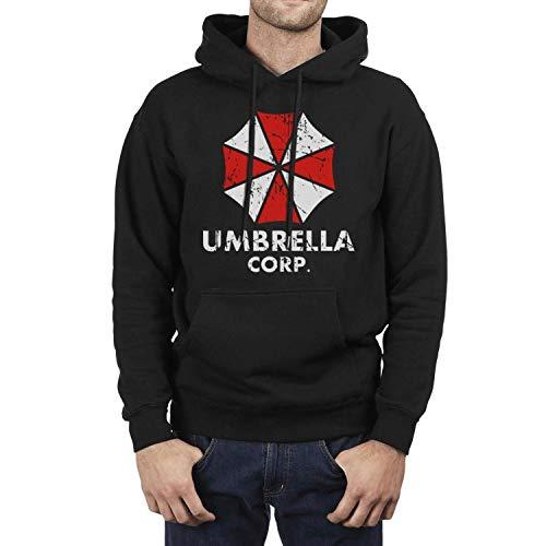 Men's Kangaroo Pocket Hooded Umbrella-corp-Resident-Evil-2- Fleece Hoodie Sweatshirt