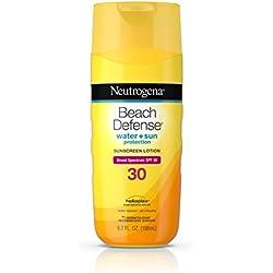 Neutrogena Beach Defense Sunscreen Body Lotion Broad Spectrum Spf 30, 6.7 Oz.