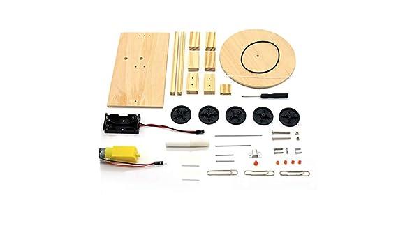 Ningbao DIY Kit de trazador eléctrico Física Experimento científico Ensamblar Modelo de Juguete: Amazon.es: Juguetes y juegos