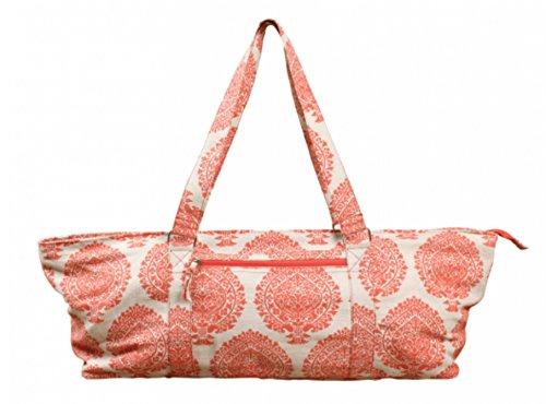 Multifunktionstasche, Sporttasche, für Yoga-Matte, Weekender, Orange