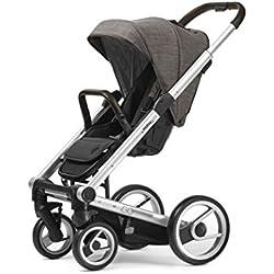 Mutsy Igo Farmer Edition Stroller, Silver Chassis