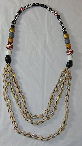 Handcrafted African Cowrie Shell Necklace 2 ()