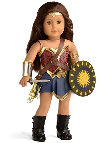 sweet dolly Doll Clothes Wonder Girl Princess Diana Costume