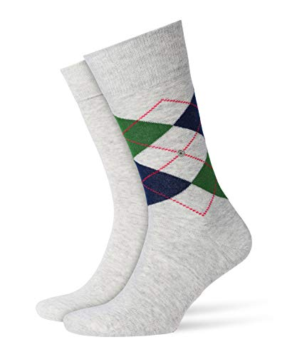 Burlington Hommelot MixChaussettes De 2Stormy uni Everyday Argyle Grey3822 tdshQrC