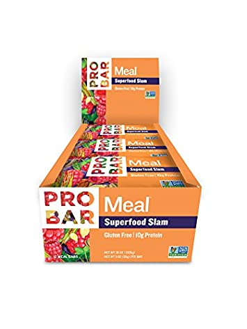 PROBAR – Meal Bar, Superfood Slam, 3 Oz, 12 Count – Plant-Based Whole Food Ingredients