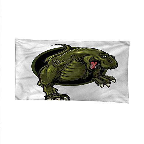 Jurassicspace tapestrywall Hanging tapestryT-rex Ancient Animal 84W x 70L ()