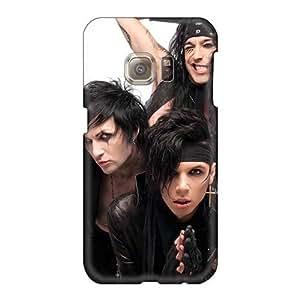 Samsung Galaxy S6 TZI2506Gmys Customized Trendy Black Veil Brides Band BVB Image High Quality Hard Phone Case -EricHowe