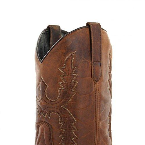 Sendra Støvler Støvler Karluk / Sendra 14340 / Brun Western Ridestøvler Med Thinsulate Isolering Tang M1cK6wKIMx