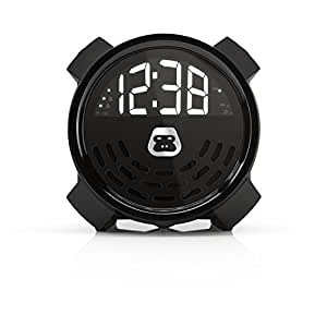 G-Project G-BUZZ Portable Alarm Clock FM Radio Speaker and USB Charging & Aux Line In