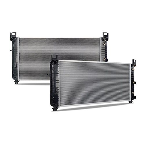 Mishimoto R2423-AT Cadillac Escalade Replacement Radiator, 2002-2013, Silver (Replacement Escalade Radiator Cadillac)