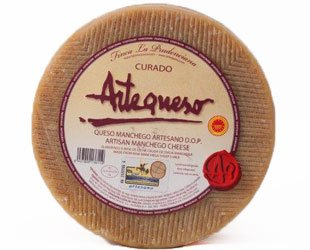 Raw Sheep's Milk D.O.P. Manchego - 6.6 lb wheel by Hamlovers.com by Artequeso