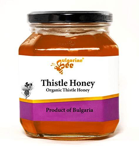 450 g Rauwe Kardoen Distel Bloesem Honing, Geen Suiker