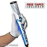 SAPLIZE Golf Putter Grip, Sap Lit V2, Ergonomic Shape, Light, Anti-Slip Pattern, Mid Size