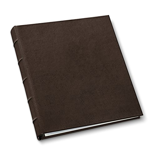 Gallery Leather Presentation Binder 1.25'' Hubbed Spine Freeport Mocha by Gallery Leather