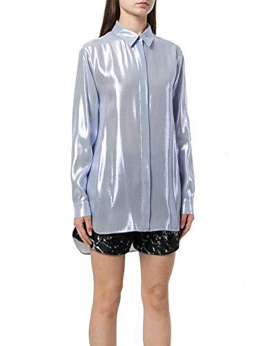 Alberta Ferretti Bleu Claire A020901290344 Chemise Soie Femme 4awr4f