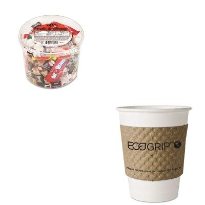 KITECOEG2000OFX00013 - Value Kit - ECO-PRODUCTS,INC. EcoGrip Recycled Content Hot Cup Sleeve (ECOEG2000) and Office Snax Soft amp;amp; Chewy Mix (OFX00013)