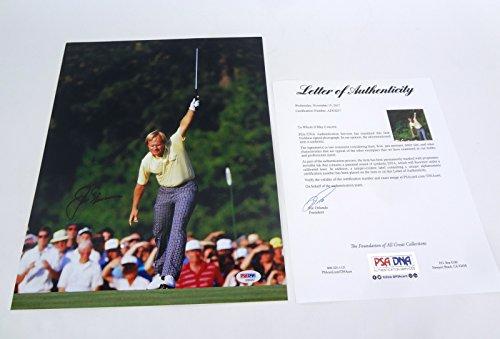 Jack Nicklaus Signed Autograph 11x14 Photo PSA/DNA COA #4