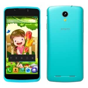 """ZOPO580 QHD 512MB+4GB Dual-core Processor Android 4.2.2 Cellphone with 4.5"""" Screen (EU Standard) Blue"""