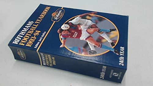 Rothman's Football Year Book 1993-94 por Jack Rollin