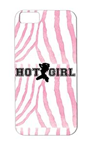 Hot Girl Scratch-free Case Cover For Iphone 5c Black Silhouette Percent Woman 100 Provocative Provocative Funny Sexy