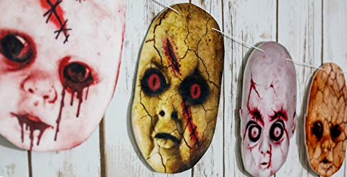 Creepy Halloween Decorations|Halloween Party décor|Outdoor Halloween Decorations|Halloween décor|Haunted Backdrop|Vintage Halloween Decorations|Haunted House Decorations ()