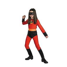 - 41uZ1EIxZoL - Disguise Disney The Incredibles Violet Classic Girls Costume