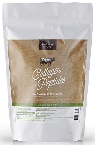 Earthtone Collagen Peptides (32oz) | Premium Grass-Fed, Non-GMO Beef Protein
