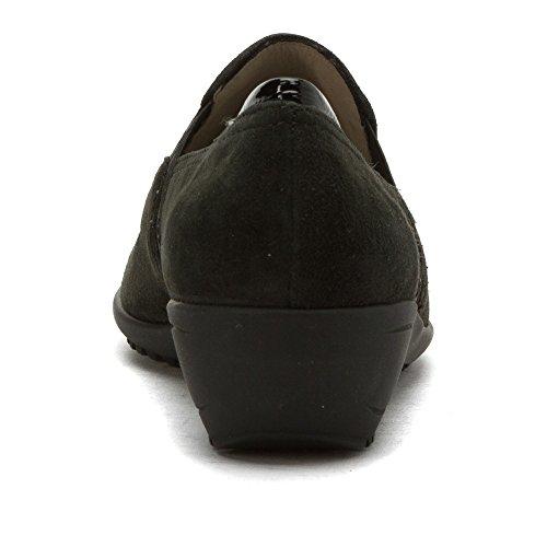 Lila Mocassins Ara Chaussures Daim Crow / Brevet