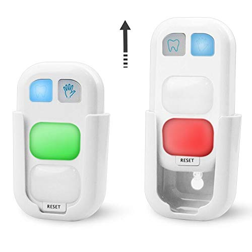 HONWELL Brushing Timer and Wash Timer for Kids 2 Pack Battery Powered Timer with LED Color Light Great Gift for Children and Teens Traning Coach.