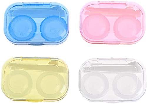 Paquete de 6 estuches para lentes de contacto, para almacenamiento de lentes de contacto, para proteger mejor tus ojos: Amazon.es: Salud y cuidado personal