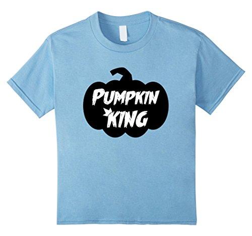 Kids Pumpkin King Shirt | Halloween Shirts for Kids, Toddler 10 Baby Blue