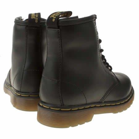1 15382001 Boot Martens Nauhakenkä Dr Pehmeästi Delaney Junior Balck UYWxEq