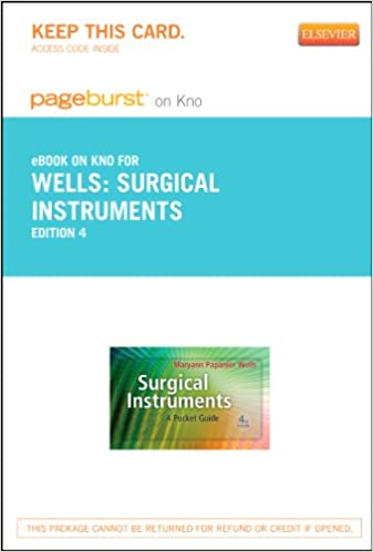 Surgical instruments study guide