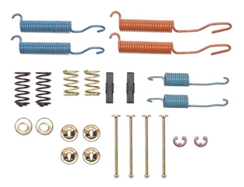 (ACDelco 18K561 Professional Rear Drum Brake Spring Kit with Clips, Springs, Pins, Retainers, and Washers)