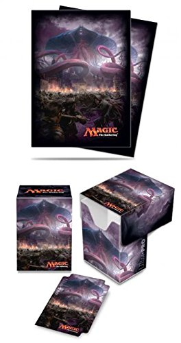 BUNDLE: Magic: the Gathering - Eldritch Moon - Emrakul, the Promised End (Deck Box & 80 Sleeves)
