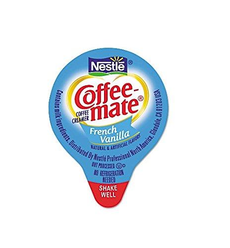 NESTLE COFFEE-MATE Coffee Creamer, French Vanilla, liquid creamer singles, Pack of 360