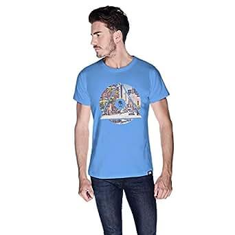 Creo La City T-Shirt For Men - L, Blue