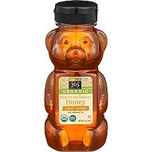 365 Everyday Value, Organic Mountain Forest Honey Light Amber, 12 oz
