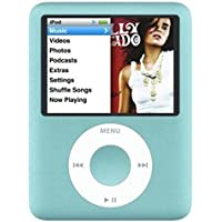 Refurbished-Blue For Apple iPod nano 8 GB 3rd Generation (Discontinued by Manufacturer)