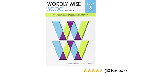 Wordly wise 3000 grade 6 set student answer key and tests wordly wise 3000 grade 6 set student answer key and tests systematic academic vocabulary development amazon books fandeluxe Gallery