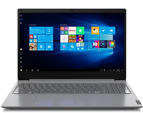 Lenovo V15 (2021) Intel Core i3 10th Gen 15.6″ FHD Thin and Light Laptop (8GB RAM/ 256GB SSD/ Windows 10 Home/ Microsoft Office Home & Student/ Iron Grey/ 1.85 kg), 82C500X8IH