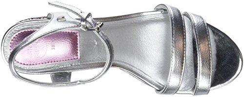 Femme plata Bout Argenté Sandales Ouvert Gioseppo 44063 wUvZFqx6