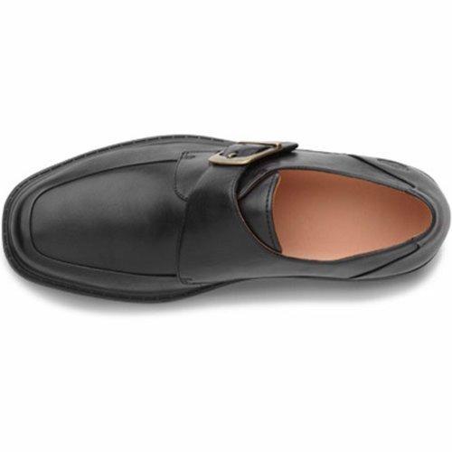 Dr. Comfort Capo Mens Terapeutico Scarpetta Ultra Profonda: Nero 8 Medio (b / G) Velcro