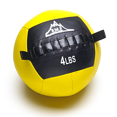 Black Mountain Products Fitness Slam Ball for Strength and Endurance Training, 4 lb