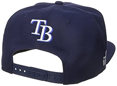 New Era Cap Men's Logo Swipe Tampa Bay Rays Star Wars 9Fifty Snapback Cap, Blue, One Size