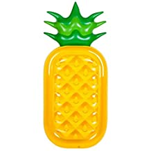 Kingswell Inflatable Pool Float Pineapple for Pool Party Giant Summer Outdoor Floatie Beach Toy for Adult Kids