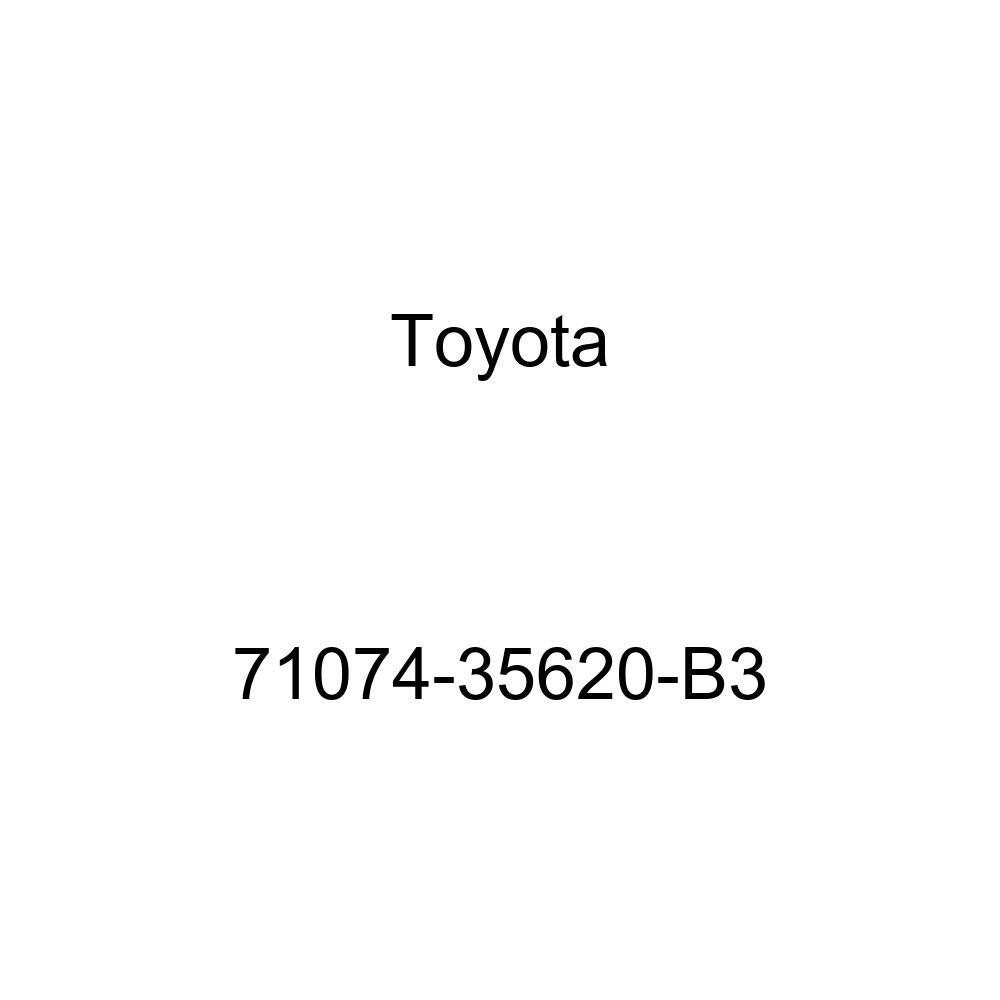 TOYOTA Genuine 71074-35620-B3 Seat Back Cover